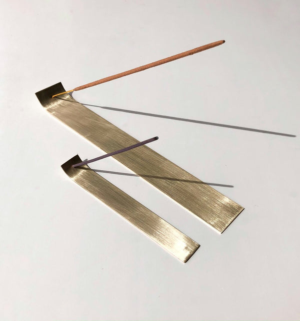 Brass Incense Holder Flat Small
