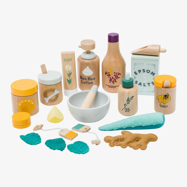 Make Me Iconic Wooden Natural Healer Kit