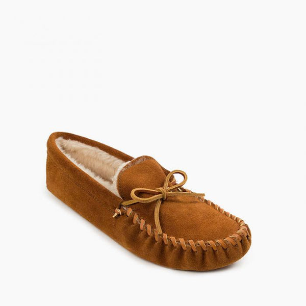 Pile Lined Slipper, Brown