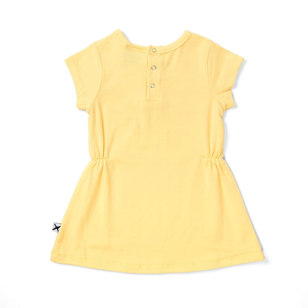 Real Life Unicorn Baby Dress Lemon