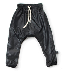 Nununu Nylon Baggy Pants Black