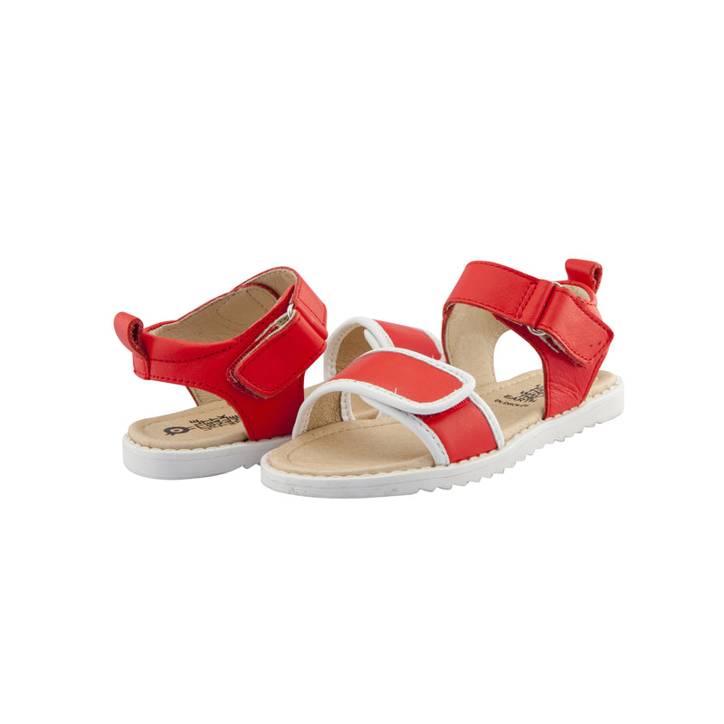 Tip Top Sandal Bright Red