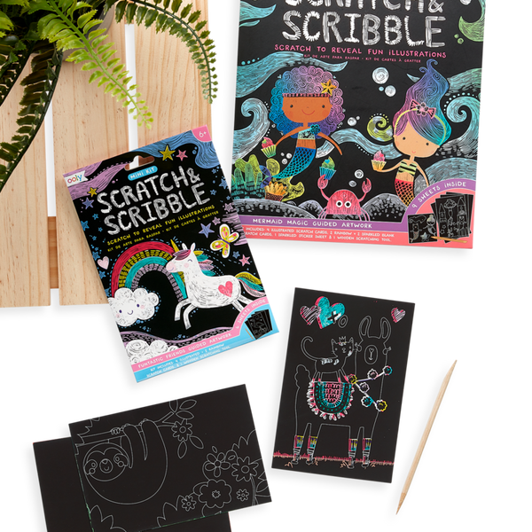 Mini Scratch & Scribble Funtastic