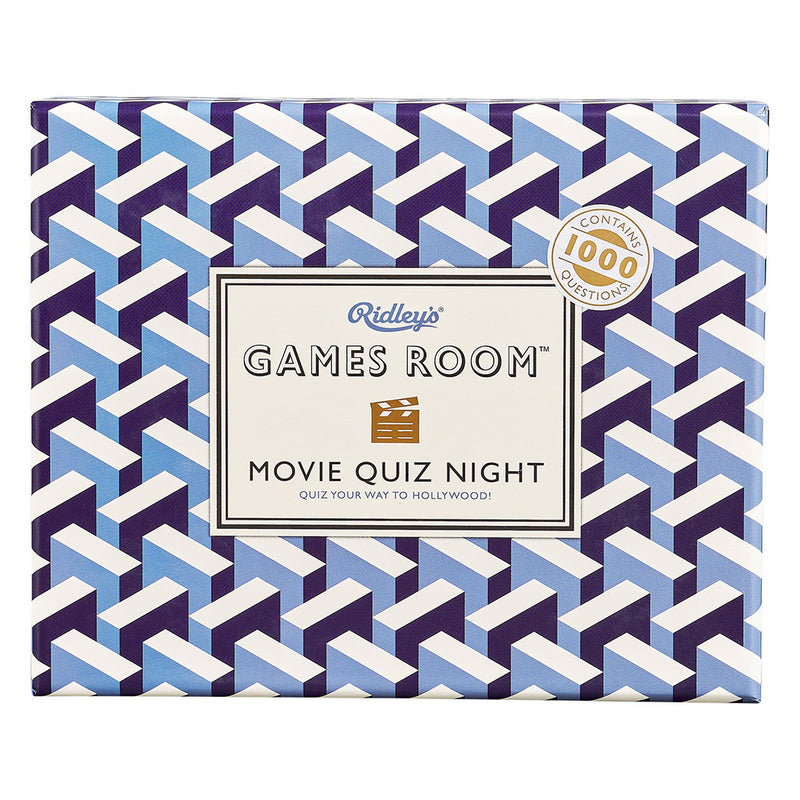 Ridley's Games Room Movie Quiz Night