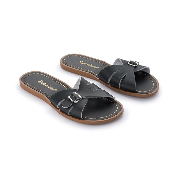 Salt Water Classic Slides Black