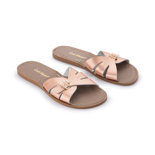 Salt Water Classic Slides Rose Gold