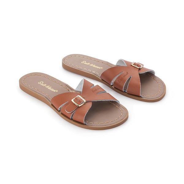 Salt Water Classic Slides Tan