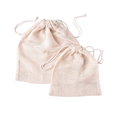 Organic Cotton Produce Bags 6pk