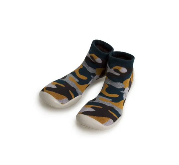Collegien Slipper Socks Army