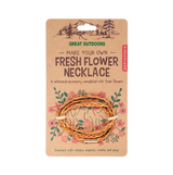 Kikkerland Great Outdoors - Fresh Flower Necklace