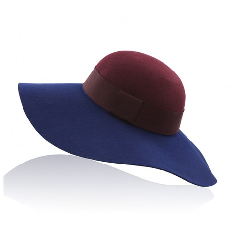 Mischka Floppy Hat Navy
