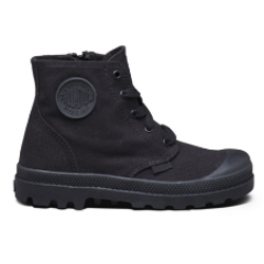 Palladium Pampa Hi Zipper Infant Black