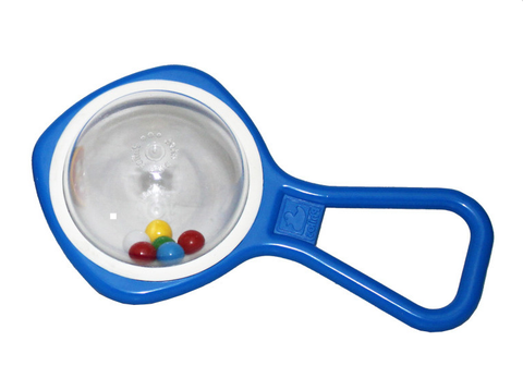 Water Ball Rattle Blue