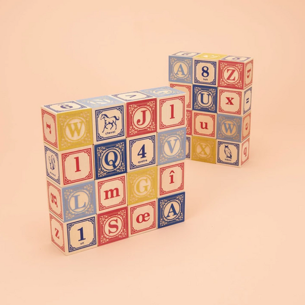 French ABC Blocks