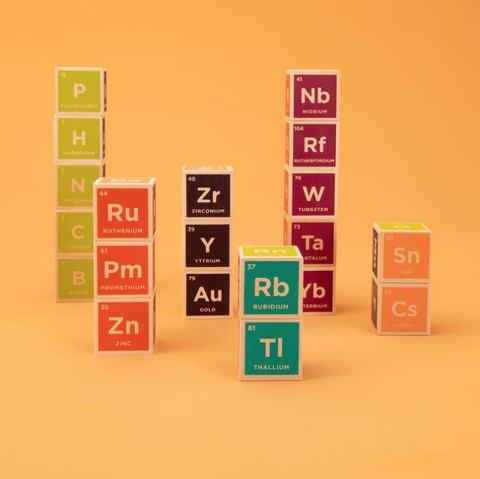 Periodic Table Blocks 20 Set
