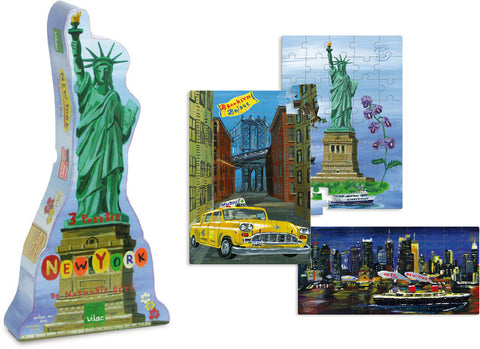 New York 3 Puzzle Set