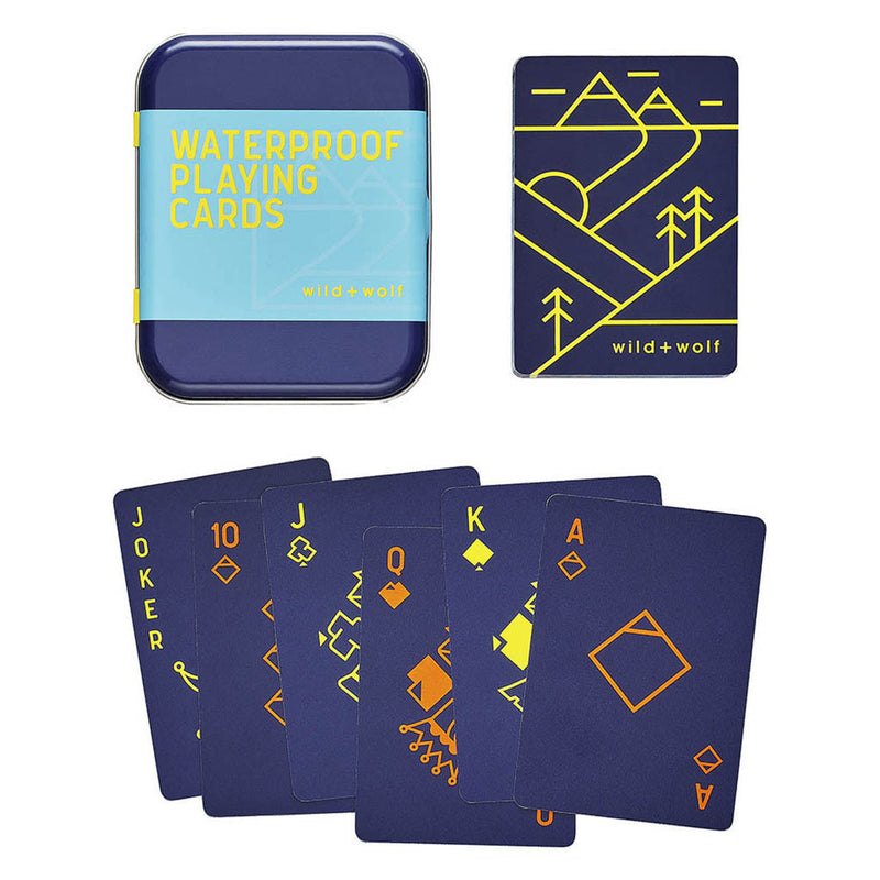 Wild + Wolf Waterproof Playing Cards