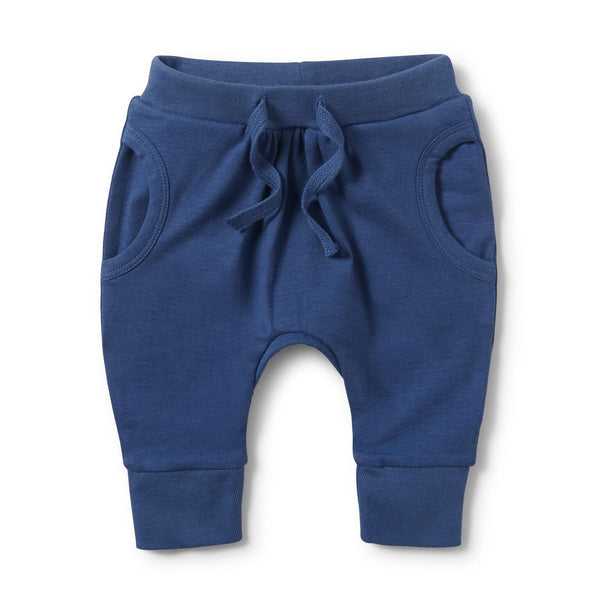 Wilson & Frenchy Pocket Slouch Pant True Navy