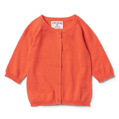 Wilson & Frenchy Summer Cardigan Hot Coral