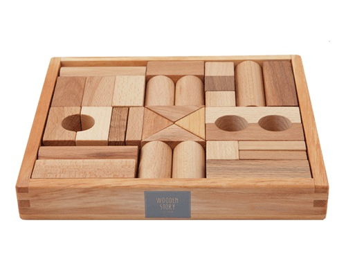 Natural Blocks 30pc