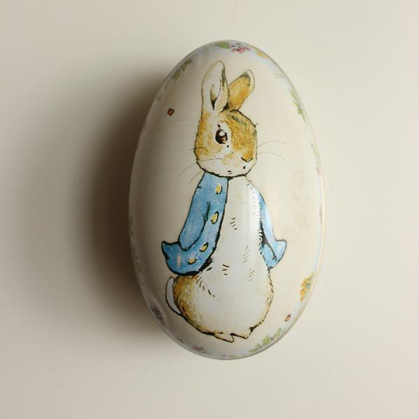 Tin Co Peter Rabbit Egg Tin