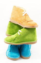 Suede Boots, Green