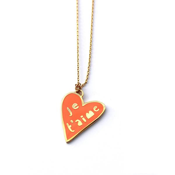 Necklace Je T'aime