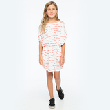 Zuttion Too Many Rules Dress White