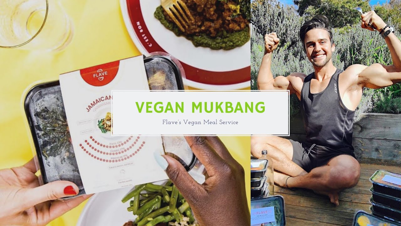 Alexander Glover - Vegan Mukbang Video