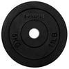 Rubber Coated 29mm Standard Weight Plates 5kg