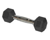 2kg Rubber Coated Hex Dumbbell