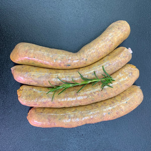Singapore Curry & Rice Sausage - Neils Meats