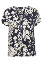 Load image into Gallery viewer, Culture ($79.00) Amaal Short Sleeve Blouse