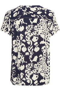 Culture ($79.00) Amaal Short Sleeve Blouse