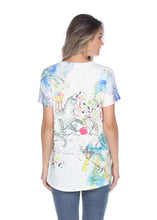 Load image into Gallery viewer, 019 Inoah ($120.00) Play Time T-Shirt Cats with Wool