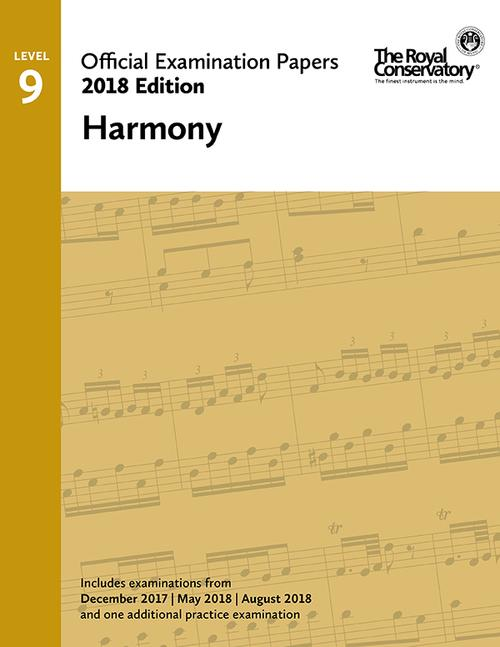2018 Official Exam Papers: Level 9 Harmony