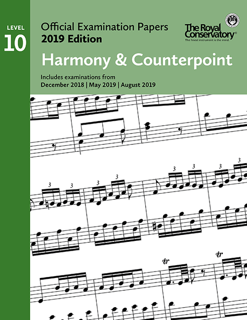 2019 Official Examination Papers: Level 10 Harmony & Counterpoint