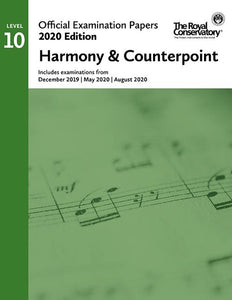 2020 Official Examination Papers: Level 10 Harmony & Counterpoint