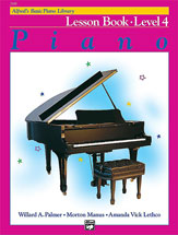 Alfred's Basic Piano Lesson Book Level 4