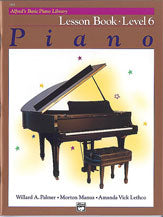 Alfred's Basic Piano Lesson Book Level 6
