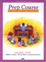 Alfred's Basic Piano Prep Lesson Book D