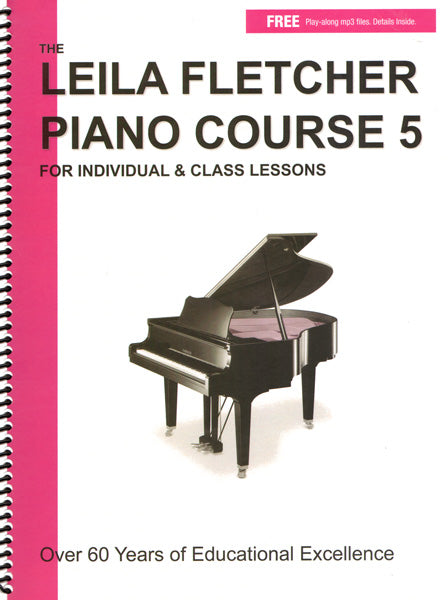 The Leila Fletcher Piano Course Book 5