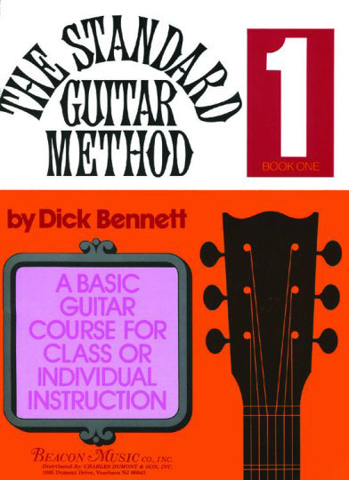 The Standard Guitar Method Book 1