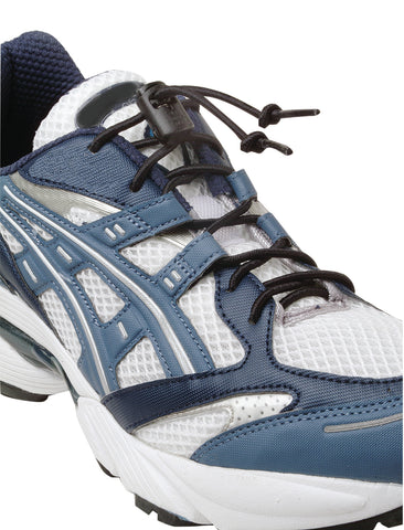 "Elastic shoe laces with cord-lock, 1 pair, 34"" long"