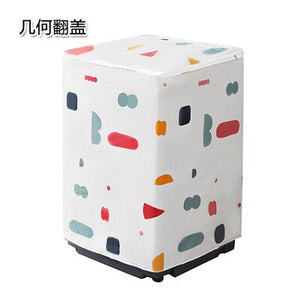 New Printing washing machine cover  Home Laundry Dryer Automatic Roller Dustproof Waterproof Case Sunscreen Organzier protection