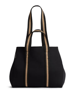 The Gigi bag - black/beige