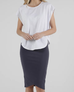 Tulip Top - White