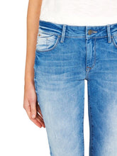 Load image into Gallery viewer, Alexa mid rise skinny true blue gold - size 30 (1067224775)