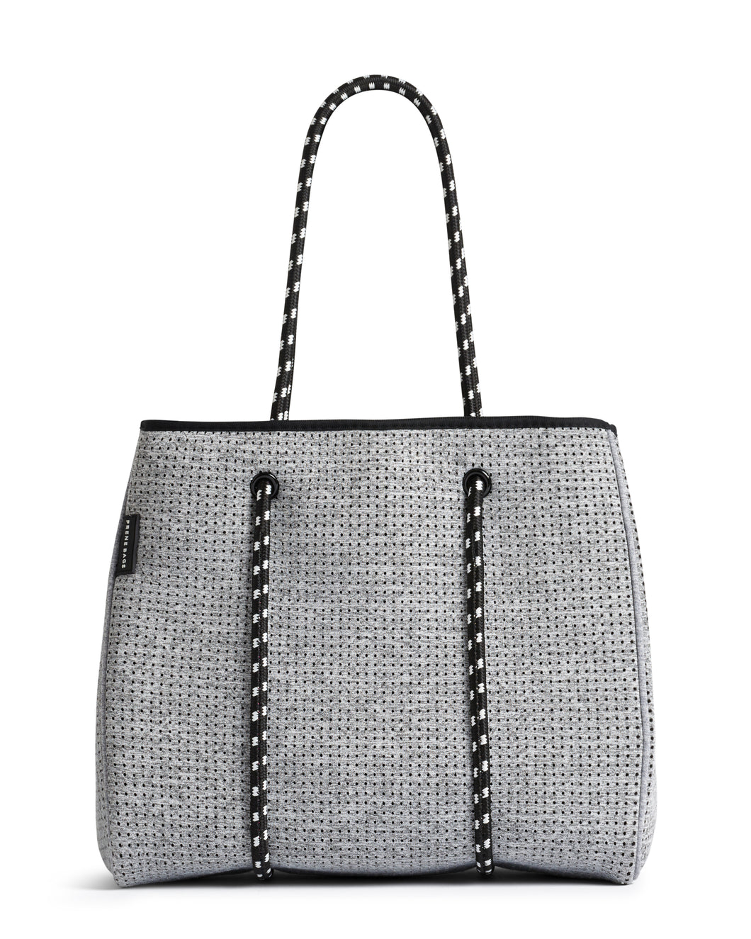 The Portsea bag - light grey/marble