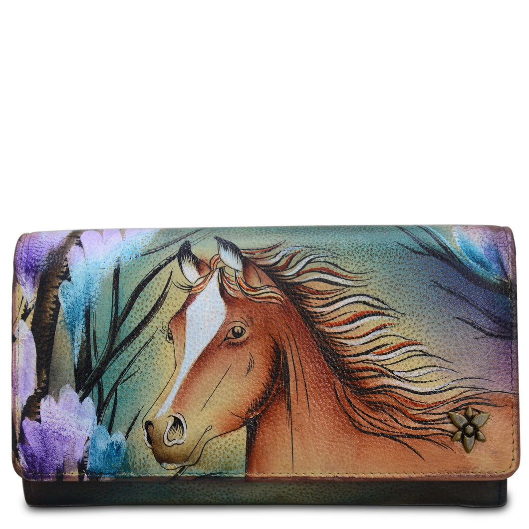 Accordion Flap Wallet - 1112